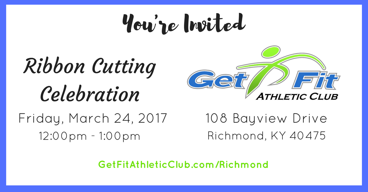 ribbon cutting get fit athletic club organization richmond chamber of commerce
